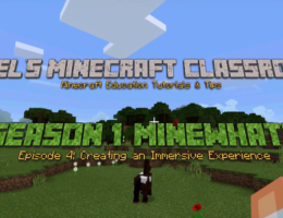 Minewhat? | Creating an Immersive Experience thumbnail image